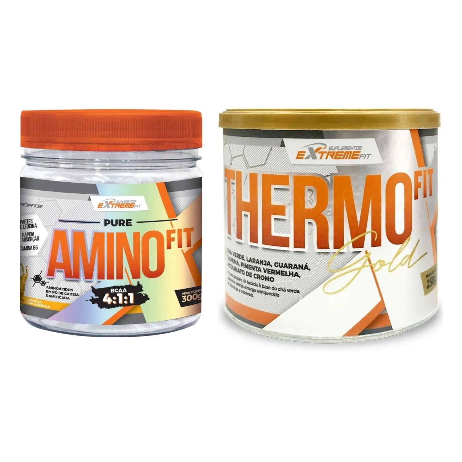 THERMO Fit 250g + Amino Fit BCAA 4:1:1 300g ExtremeFit