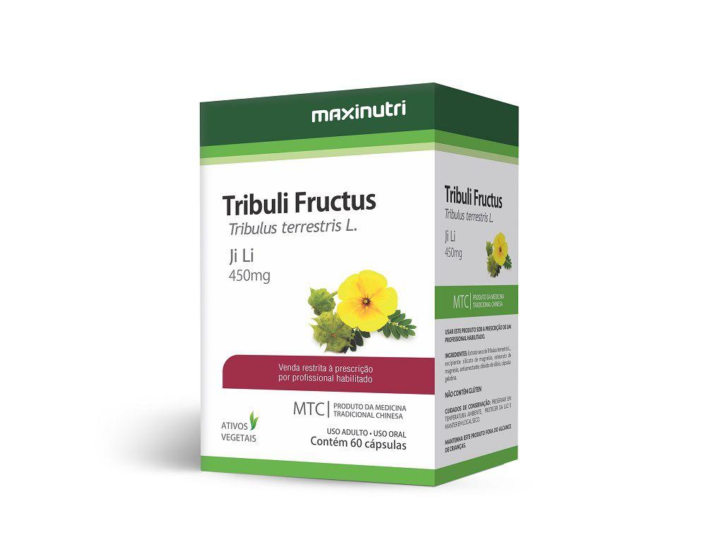 Tribuli Fructus Ji Li 450mg 60 Cápsulas Maxinutri