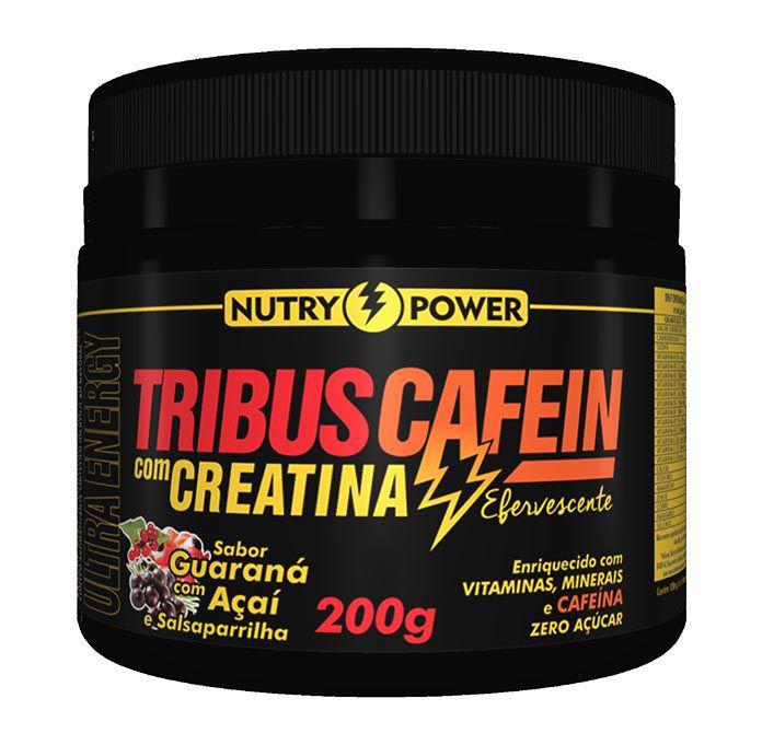 Tribus Cafein Efervescente 200g Nutry Power