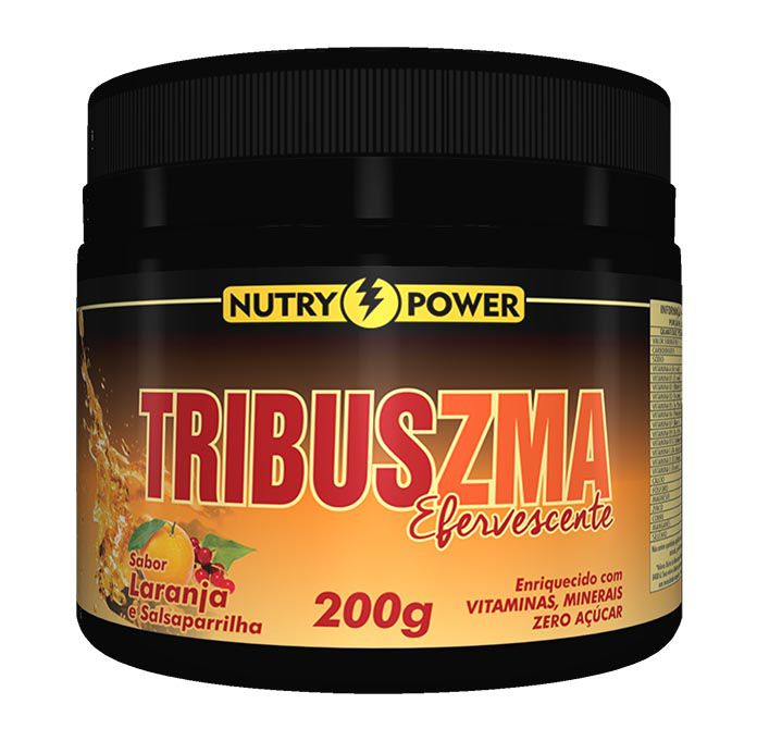 Tribus Zma Efervescente 200g Nutry Power