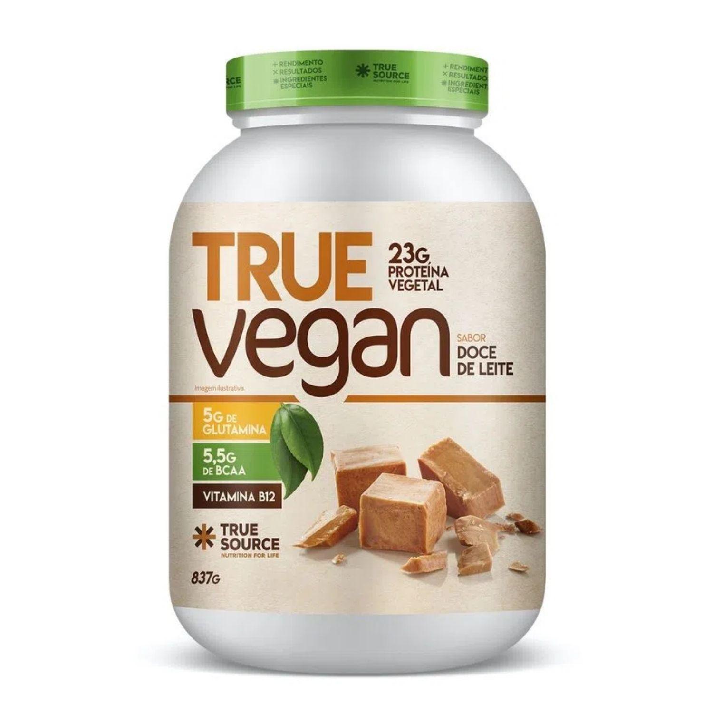True Vegan Proteína Vegana 837g True Source