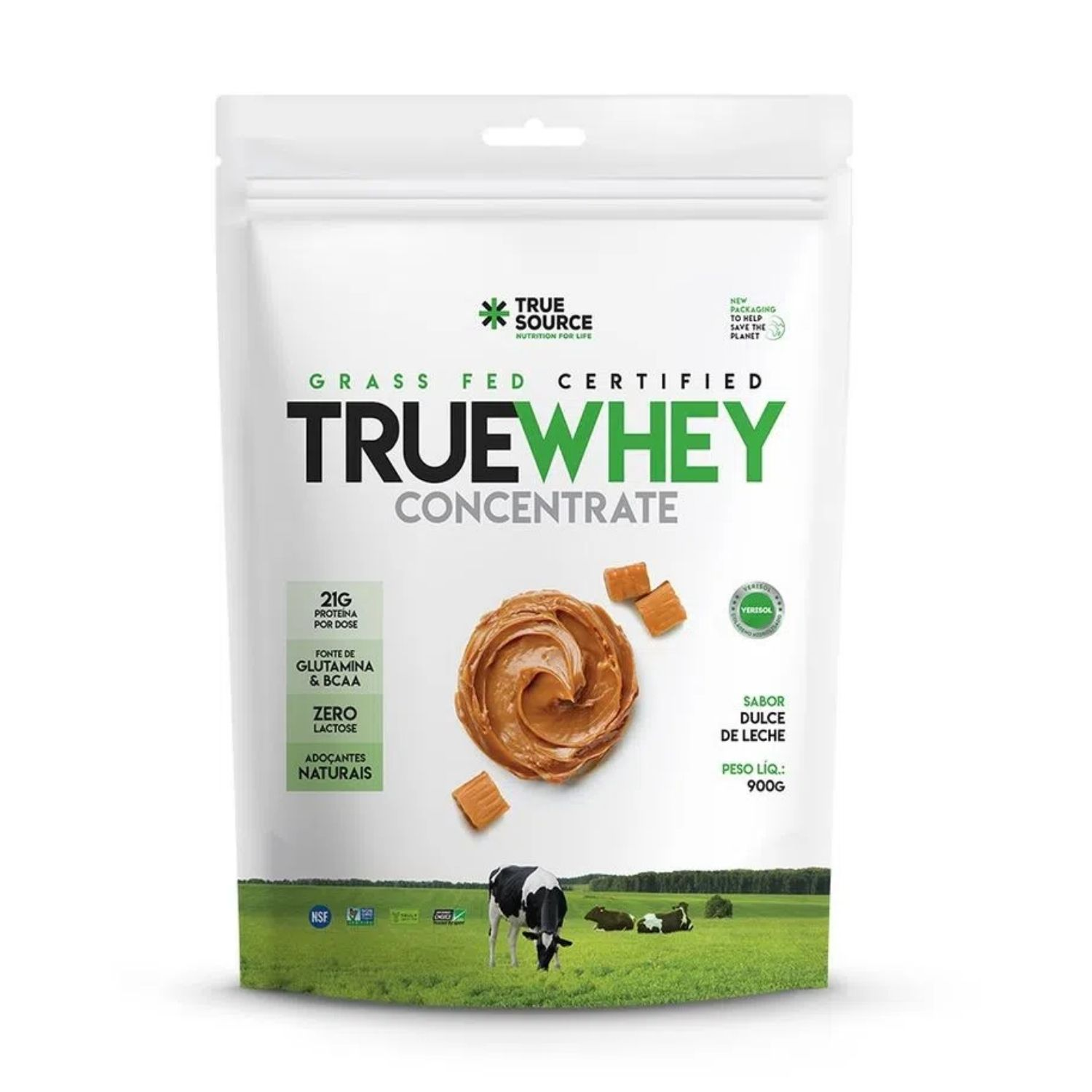 True Whey Concentrate 900g Refil True Source