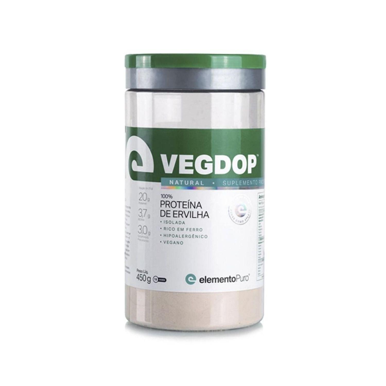 Vegdop Proteína de Ervilha 450g Elemento Puro