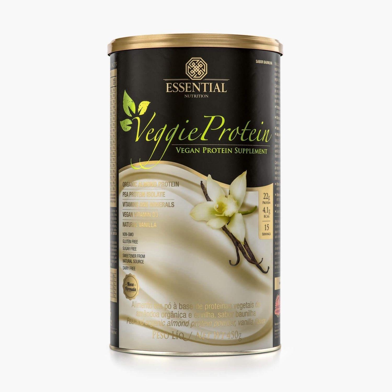 Veggie Protein Vanilla 450g Essential Nutrition