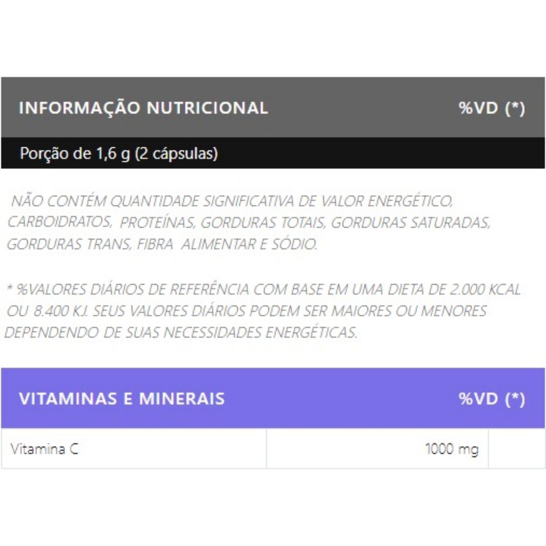 Vit C 1000mg 120 Cápsulas Vitamina C Body Nutry
