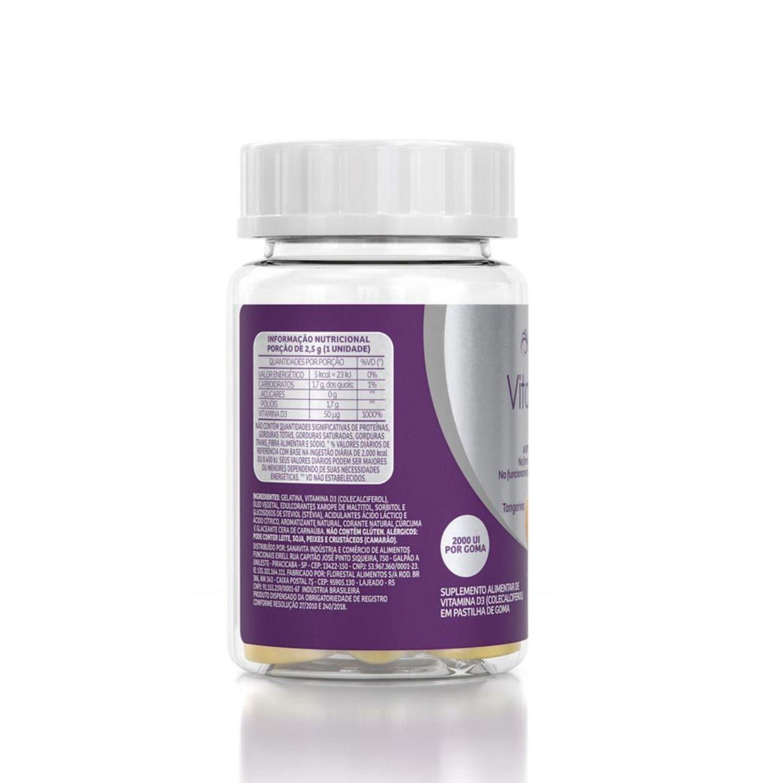 Vitamin D3 Gummy 2000UI 30 Gomas Sanavita