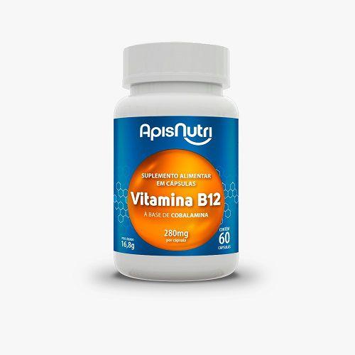 Vitamina B12 60 Cápsulas Apisnutri