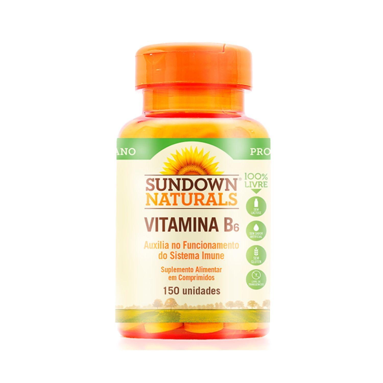 Vitamina B6 150 Cápsulas Sundown Naturals