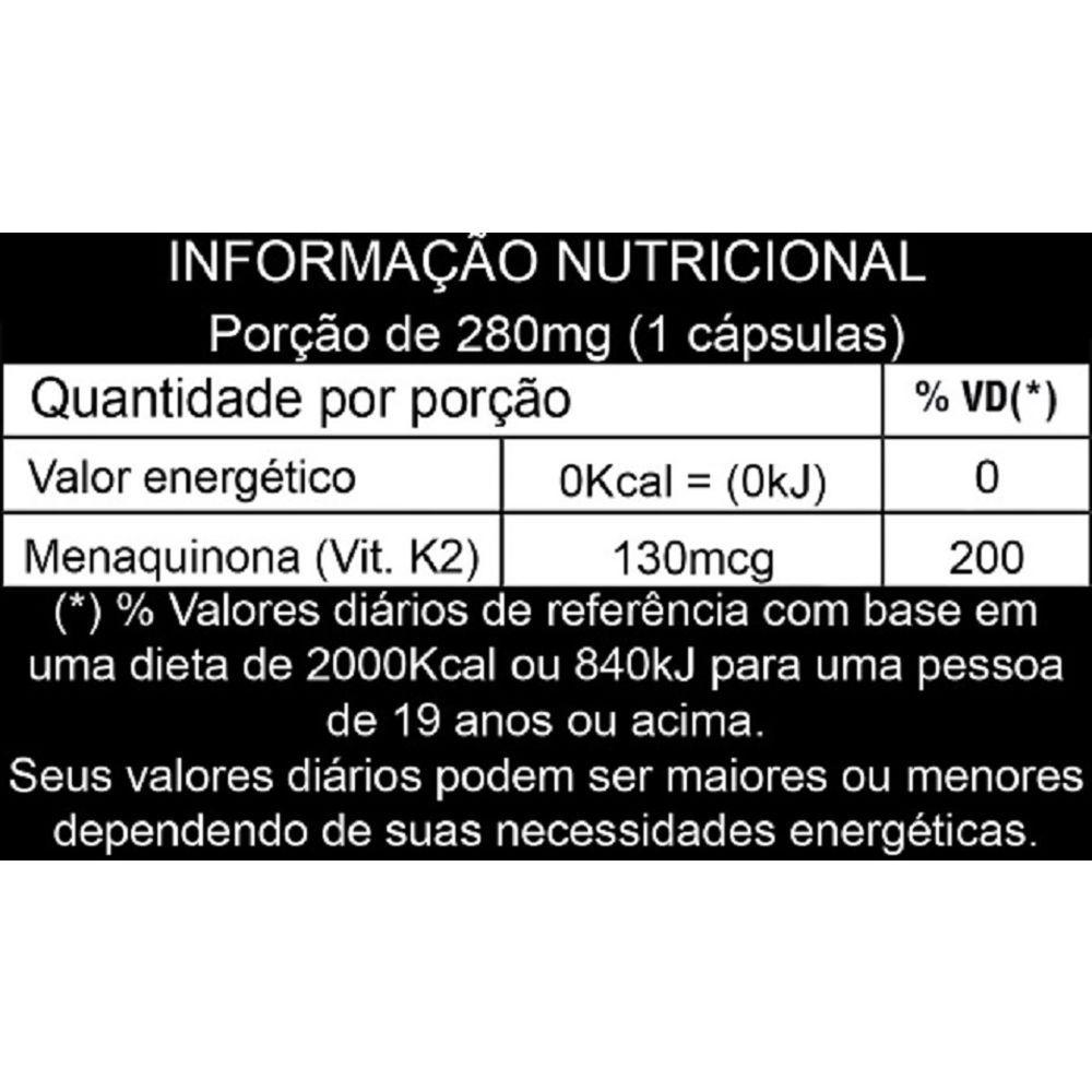 Vitamina K2 60 Cápsulas Apisnutri