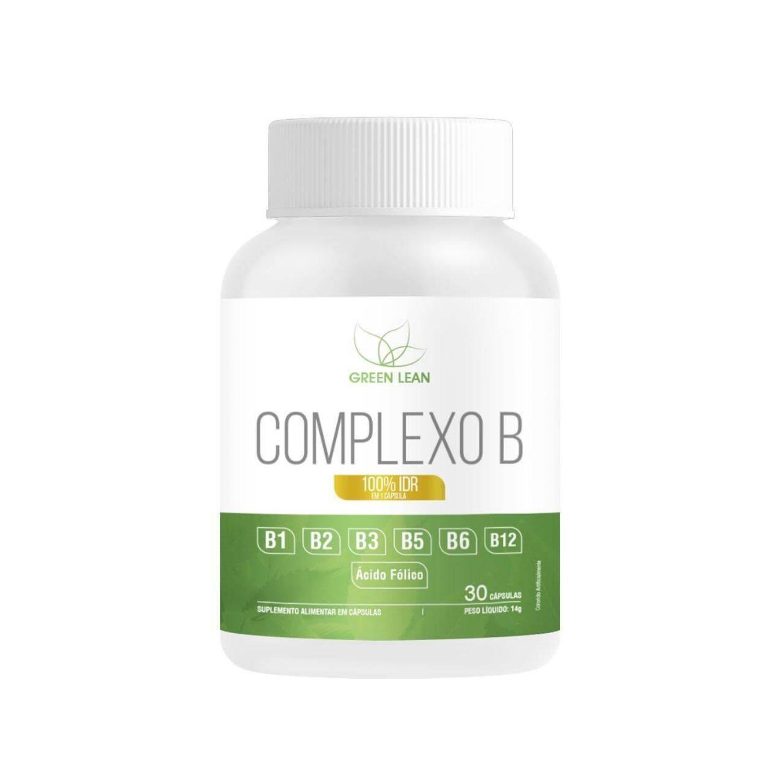 Vitaminas Complexo B 60 Cápsulas Green Lean