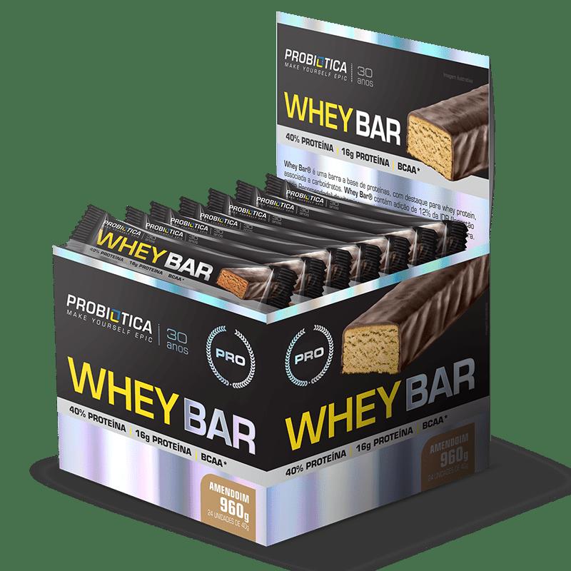 Whey Bar 24 Unidades Probiótica