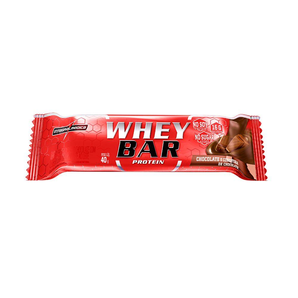 Whey Bar 40g Integralmedica