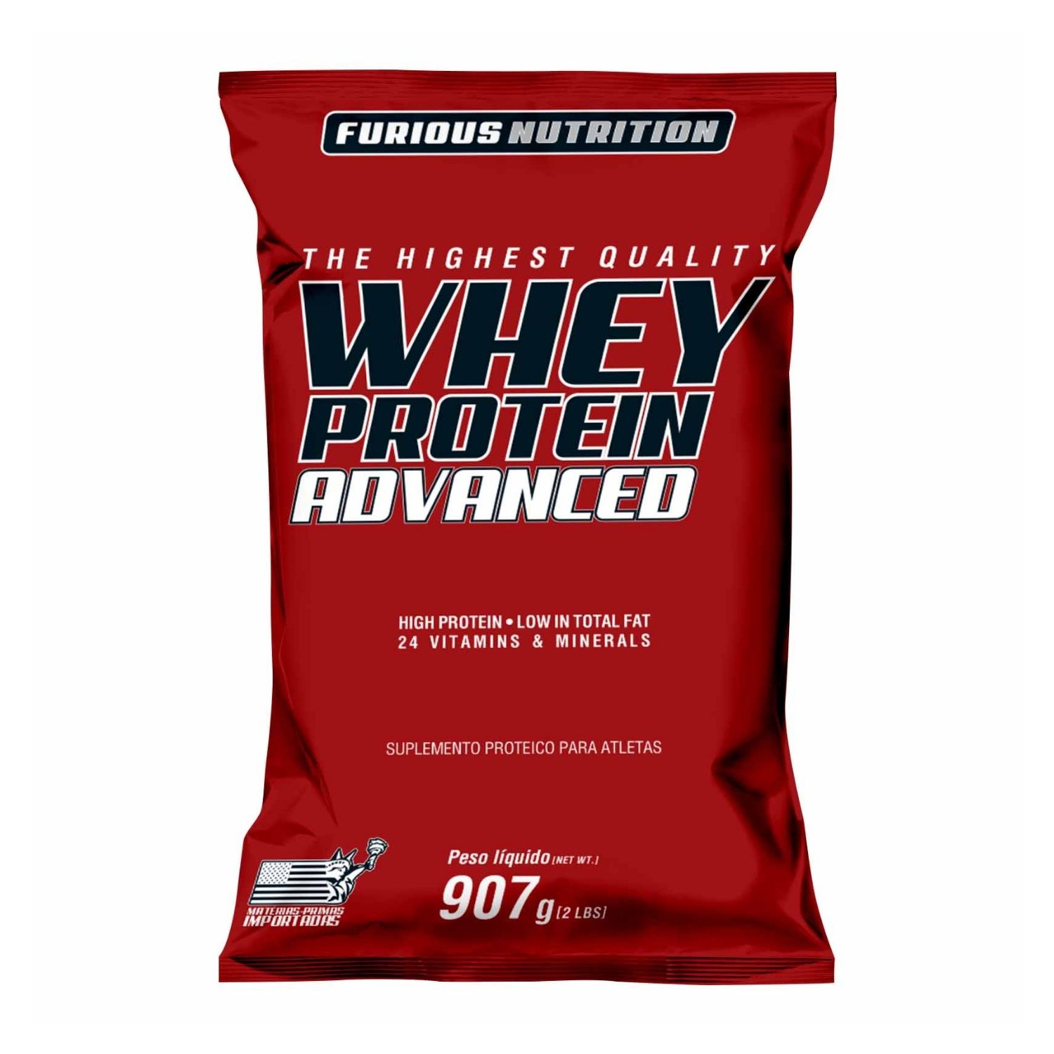 Whey Protein Advanced 907g Furious Nutrition Refil