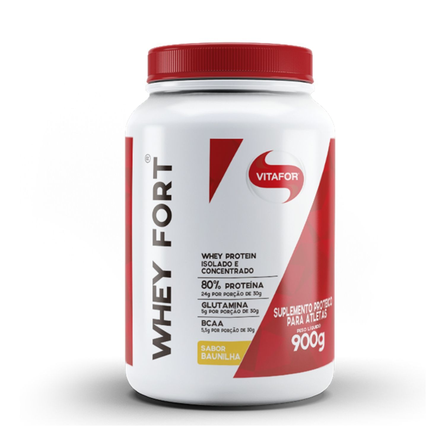 Whey Protein Whey Fort 900g Vitafor