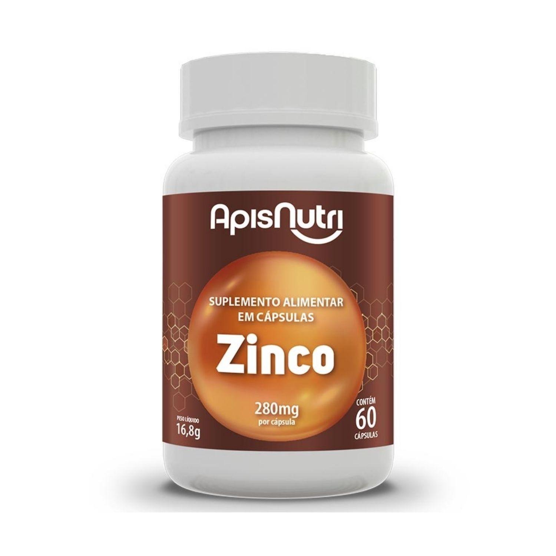 Zinco 60 Cápsulas Apisnutri