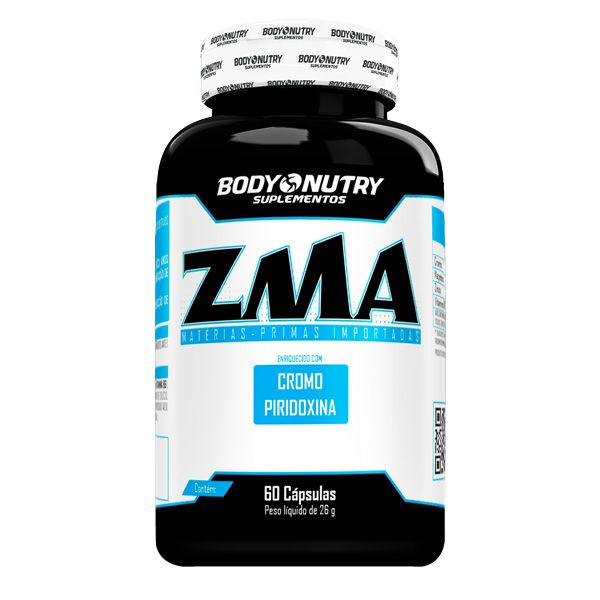 ZMA com Cromo 60 Cápsulas Body Nutry