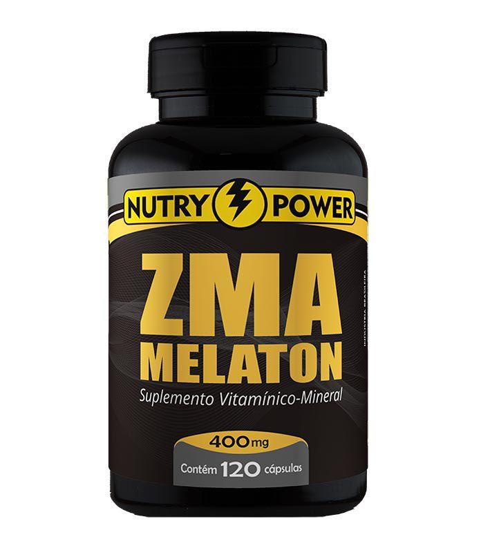 ZMA Melaton 120 Cápsulas Nutry Power