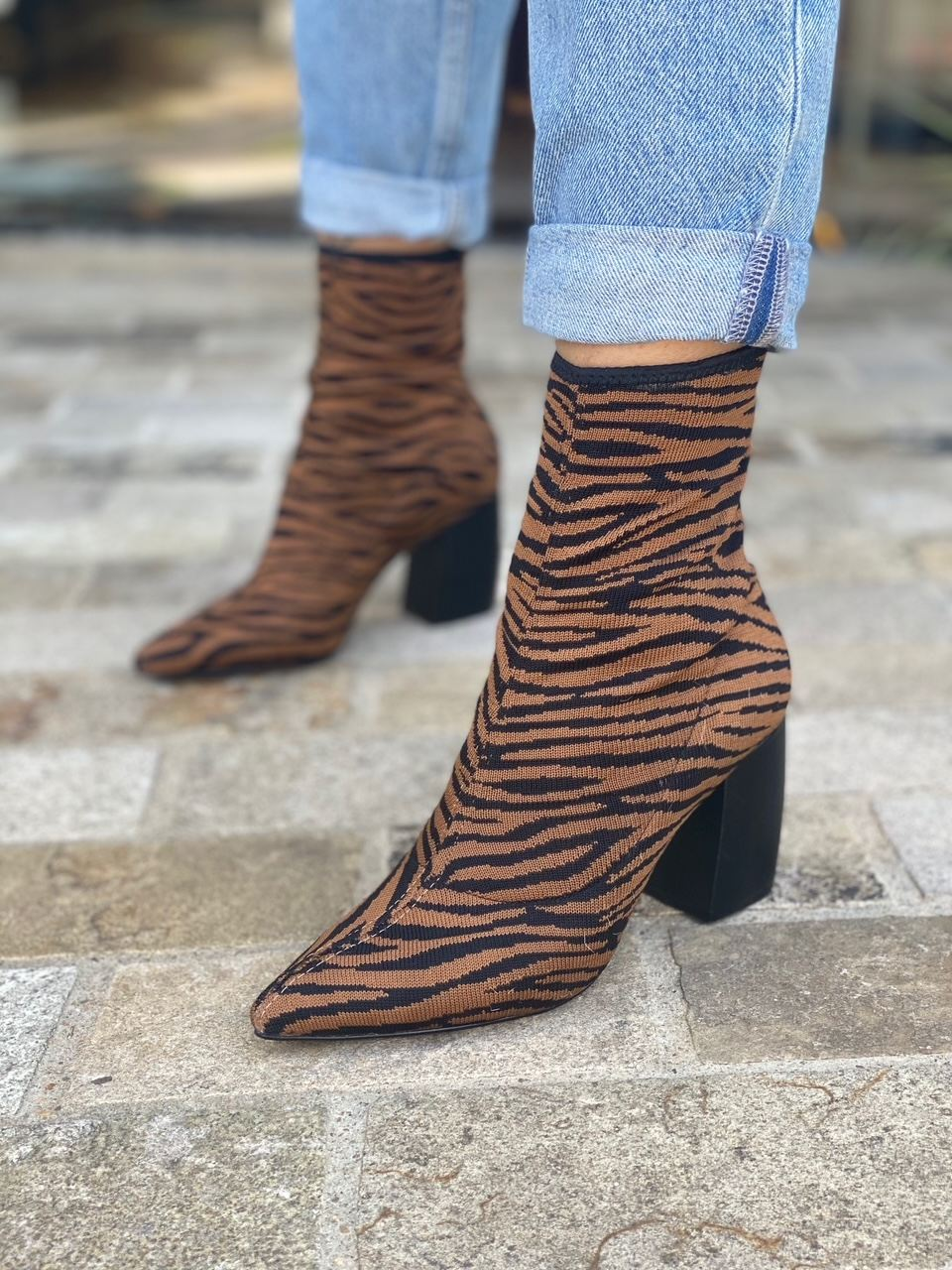 BOTA KNIT ANIMAL PRINT CARRANO