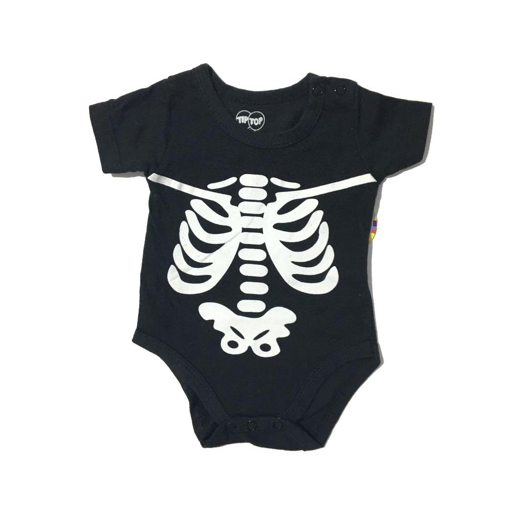 Body Bebê Masculino esqueleto Tip Top