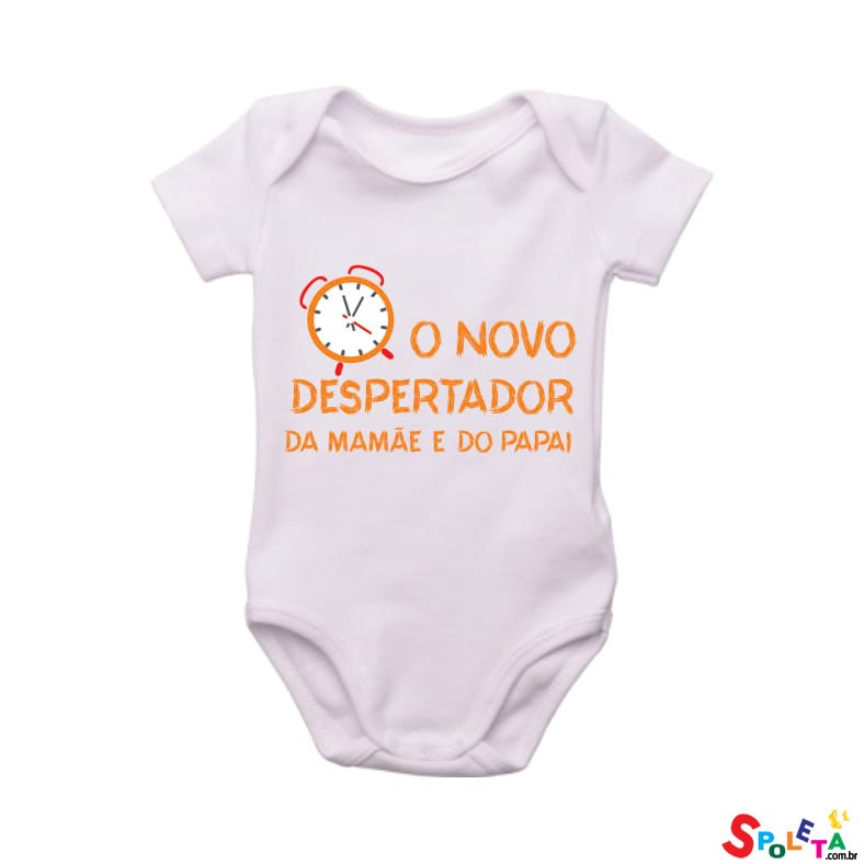 Body Spoleta O Novo Despertador da Mamãe e do Papai