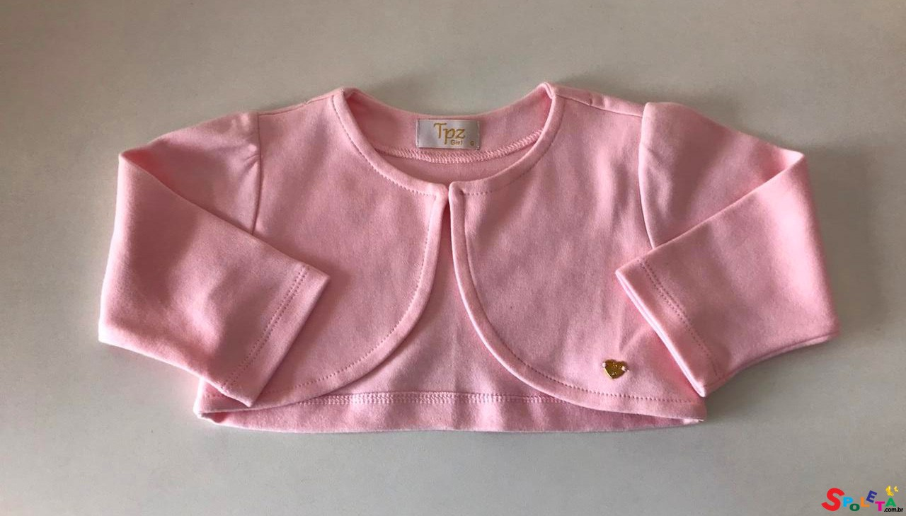 Bolero Cotton Rosa Liz