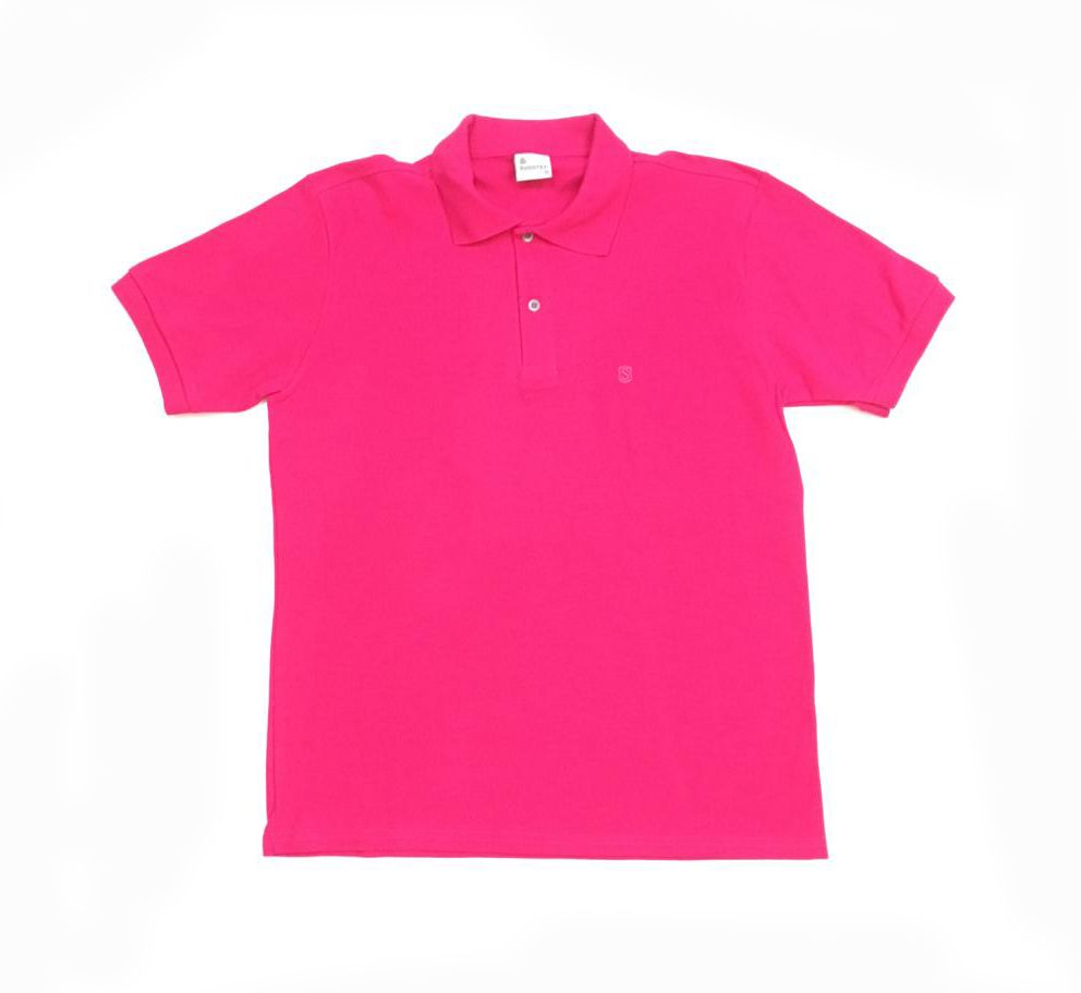 Camisa Polo Lisa Pink - Sudotex