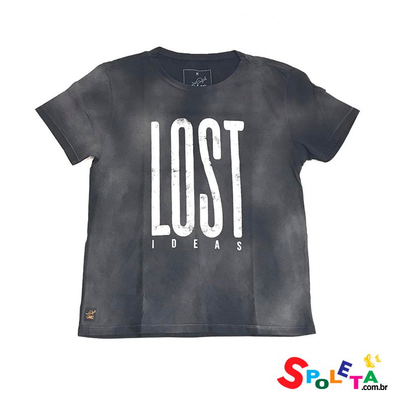 Camiseta Estampada LOST - OMG