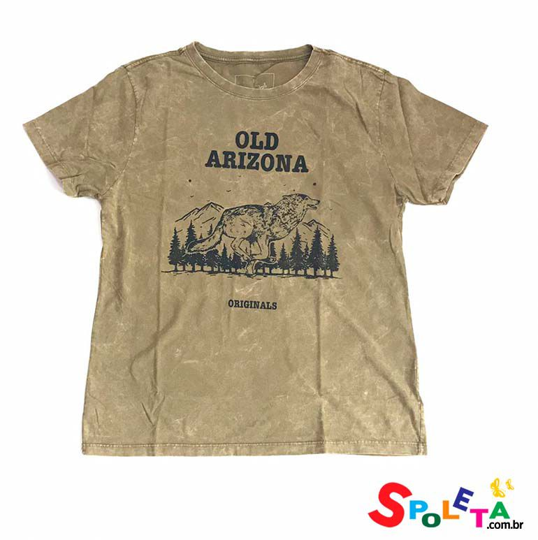 Camiseta Estampada OLD ARIZONA - OMG