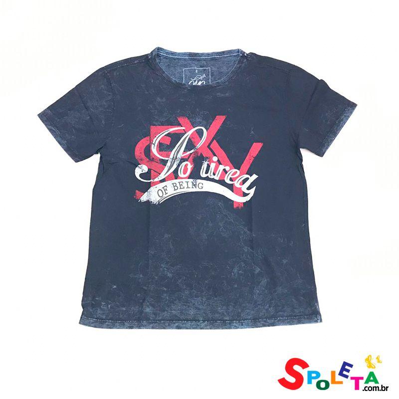 Camiseta Estampada SO TIRED - OMG