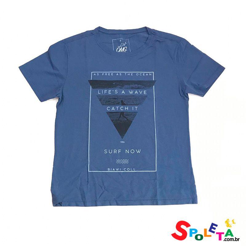 Camiseta Estampada SURF NOW - OMG
