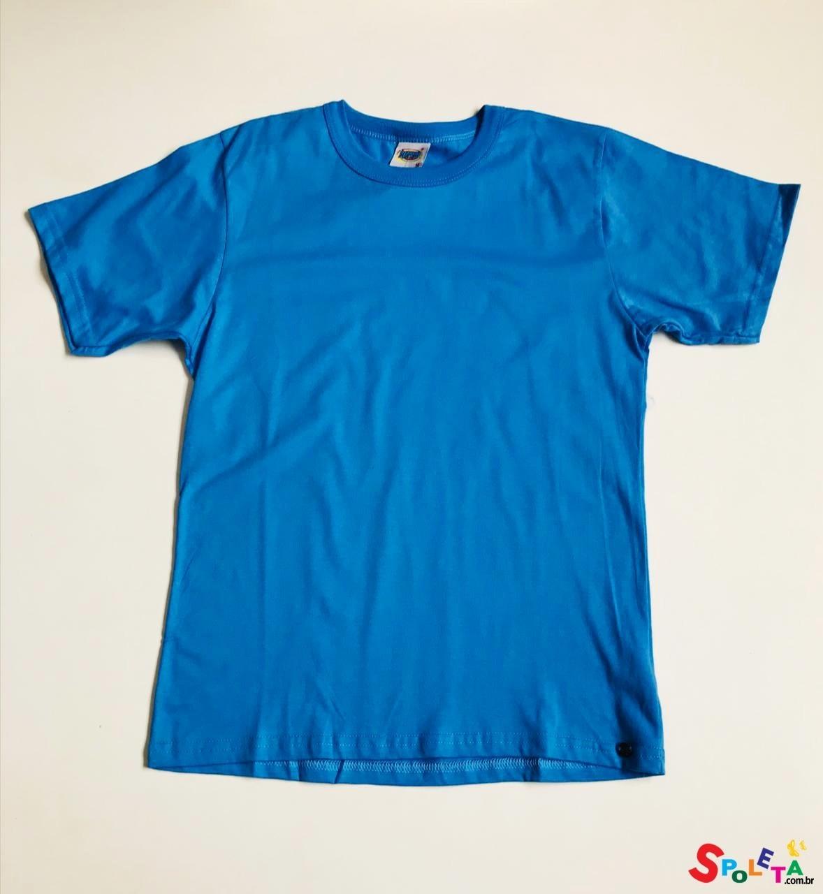 Camiseta Infantil Masculina Básica