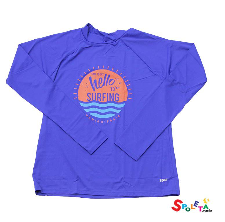 Camiseta Infantil UV Estampada