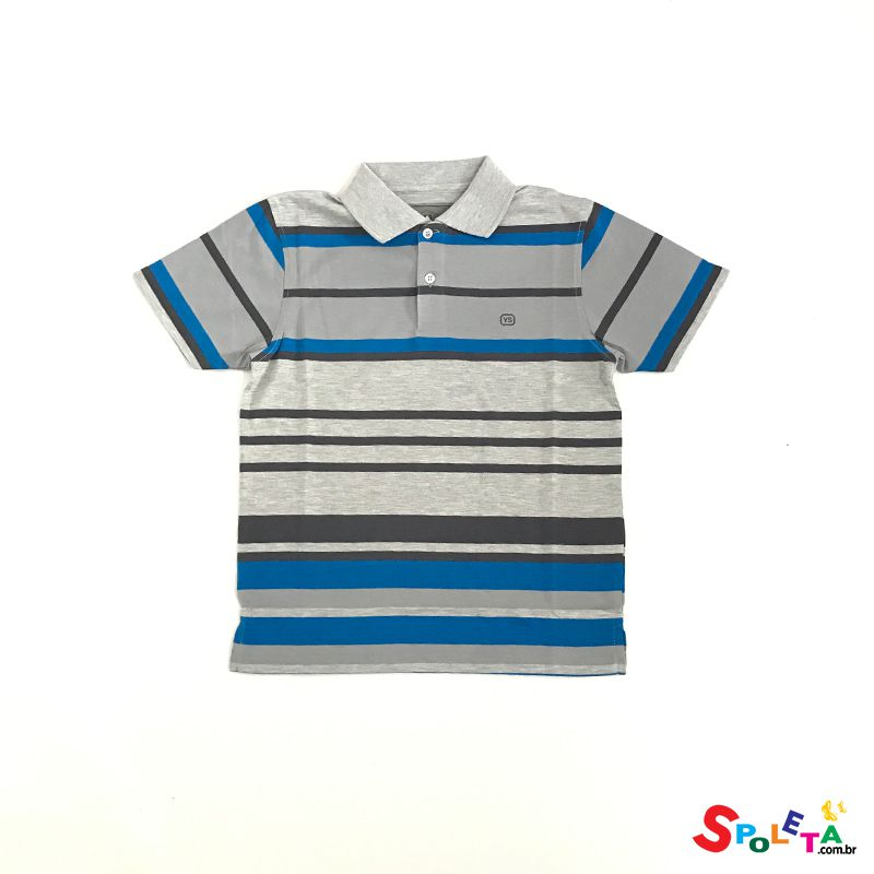 Camiseta Polo Kids Listrada - Young Style