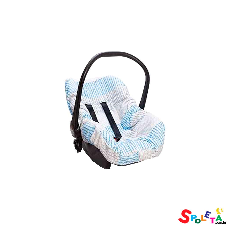 Capa Para Bebe Conforto Pedacinho do Céu - Azul