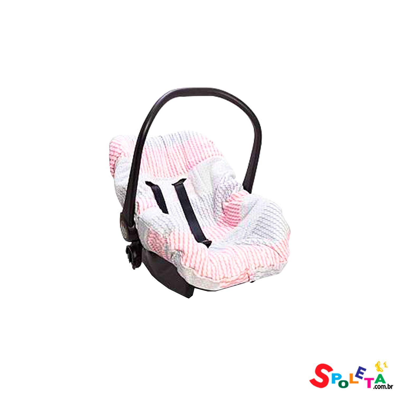 Capa Para Bebê Conforto Pedacinho De Céu - Rosa
