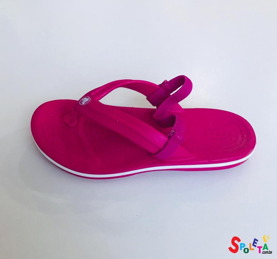 Chinelo Infantil Feminino Crocs