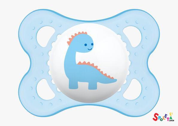 Chupeta Original Dinossauro 0-6 Coleção Trends - MAM