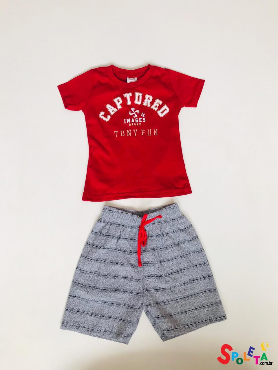Conjunto Infantil Masculino Captured