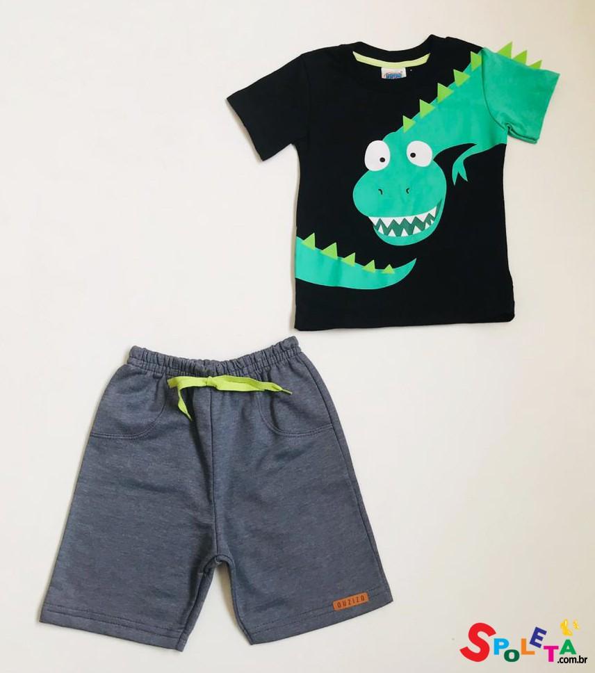 Conjunto Infantil Masculino Dino