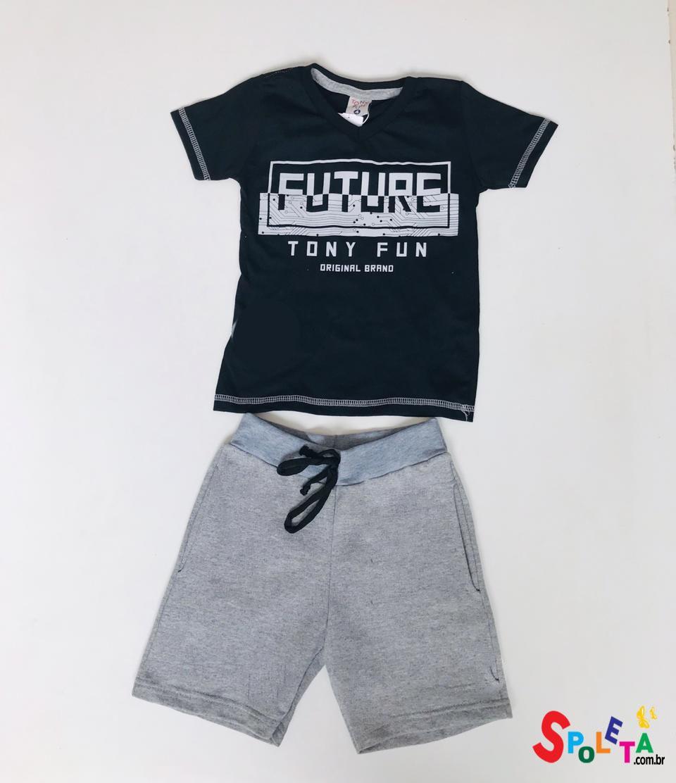 Conjunto Infantil Masculino Future