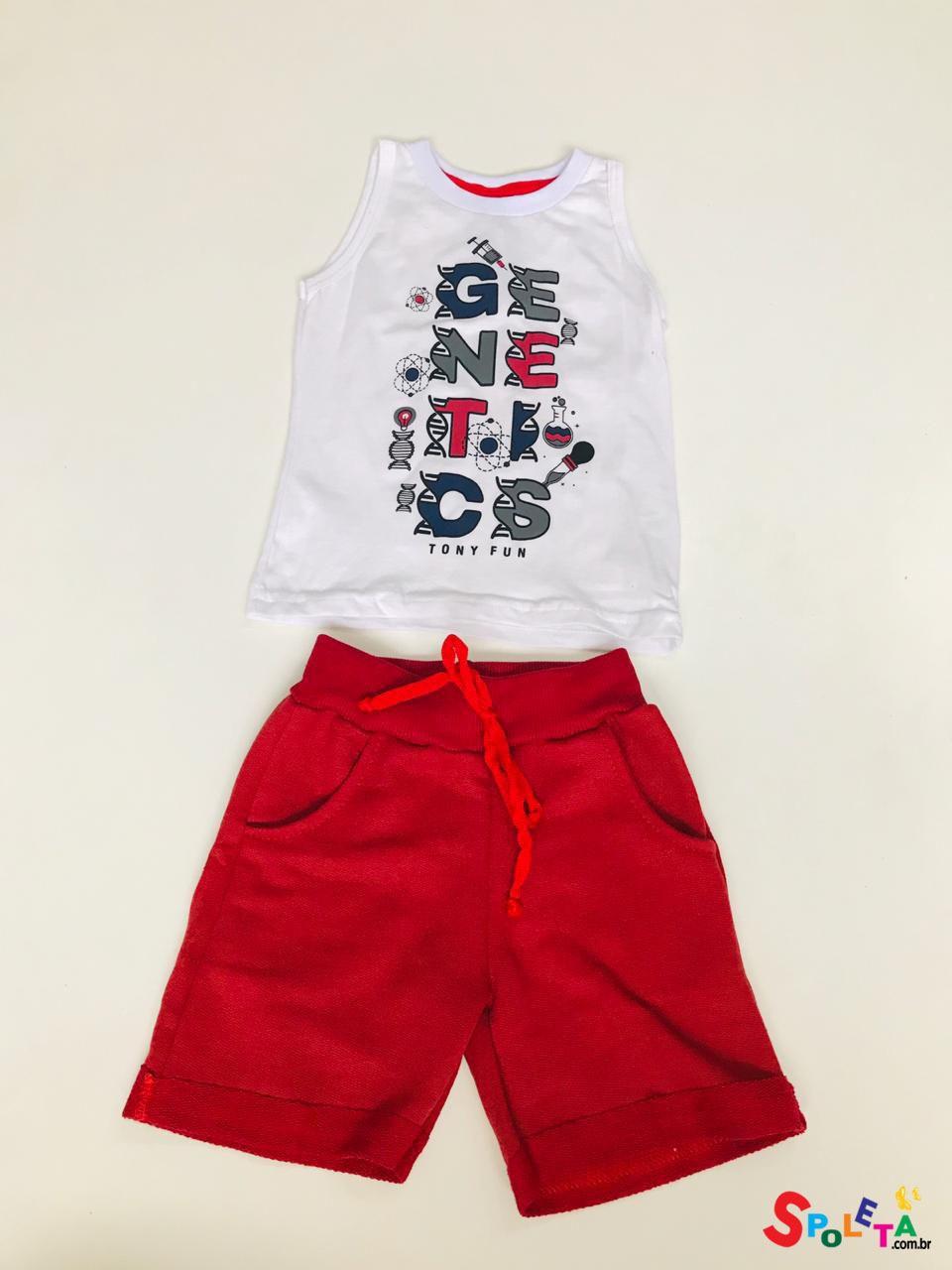 Conjunto Infantil Masculino Genetics  TF
