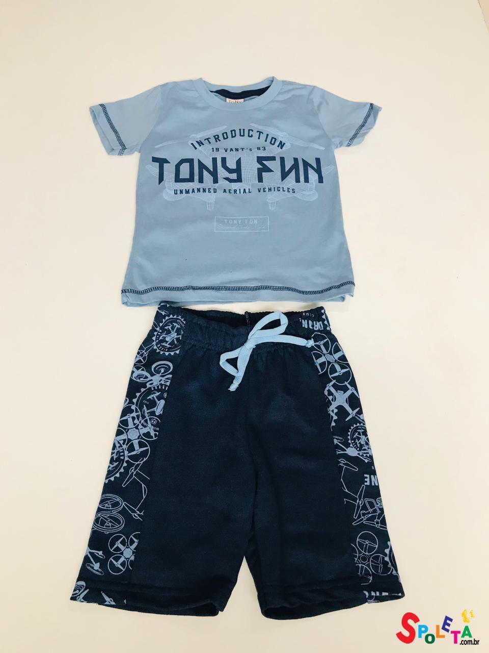 Conjunto Infantil Masculino Tony Fun