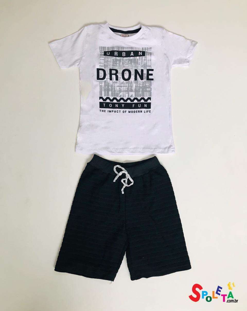 Conjunto infantil masculino urban  drone