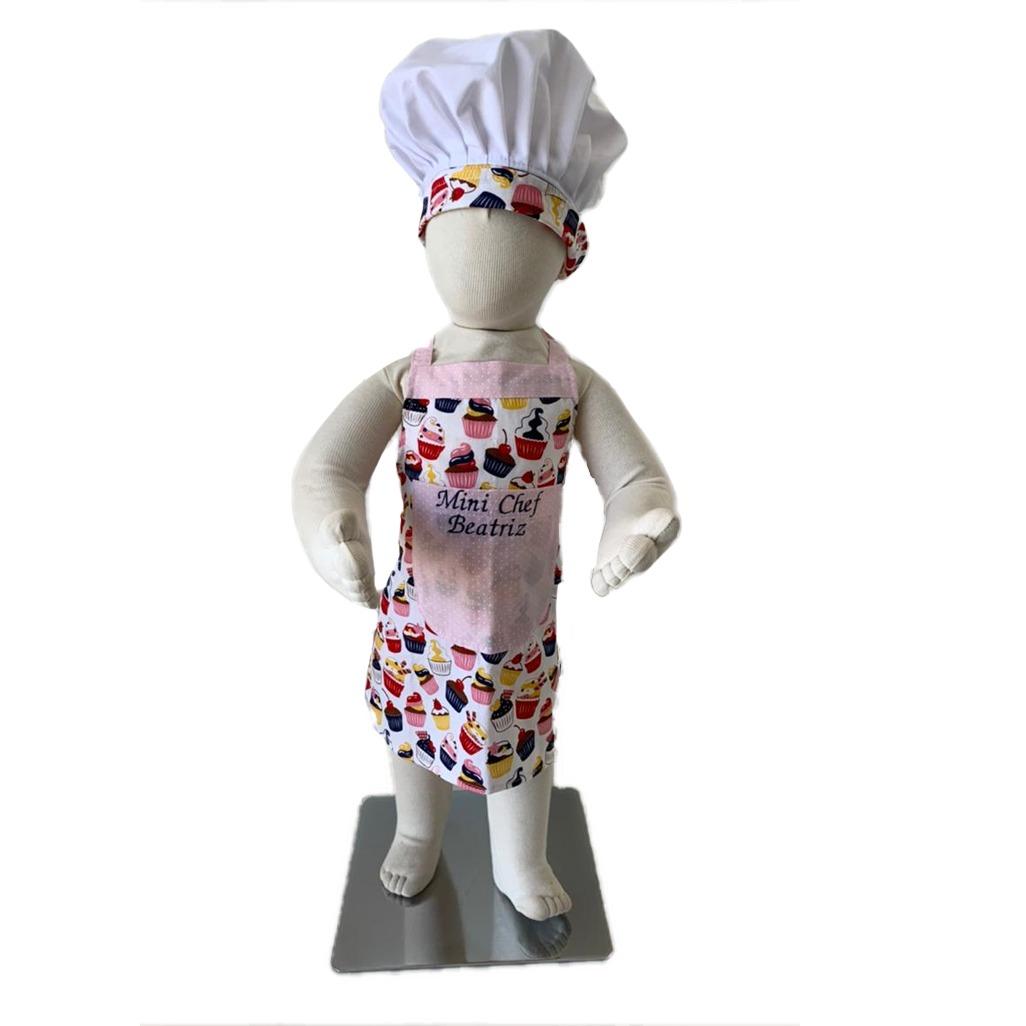 Conjunto Master Chef customizáveis