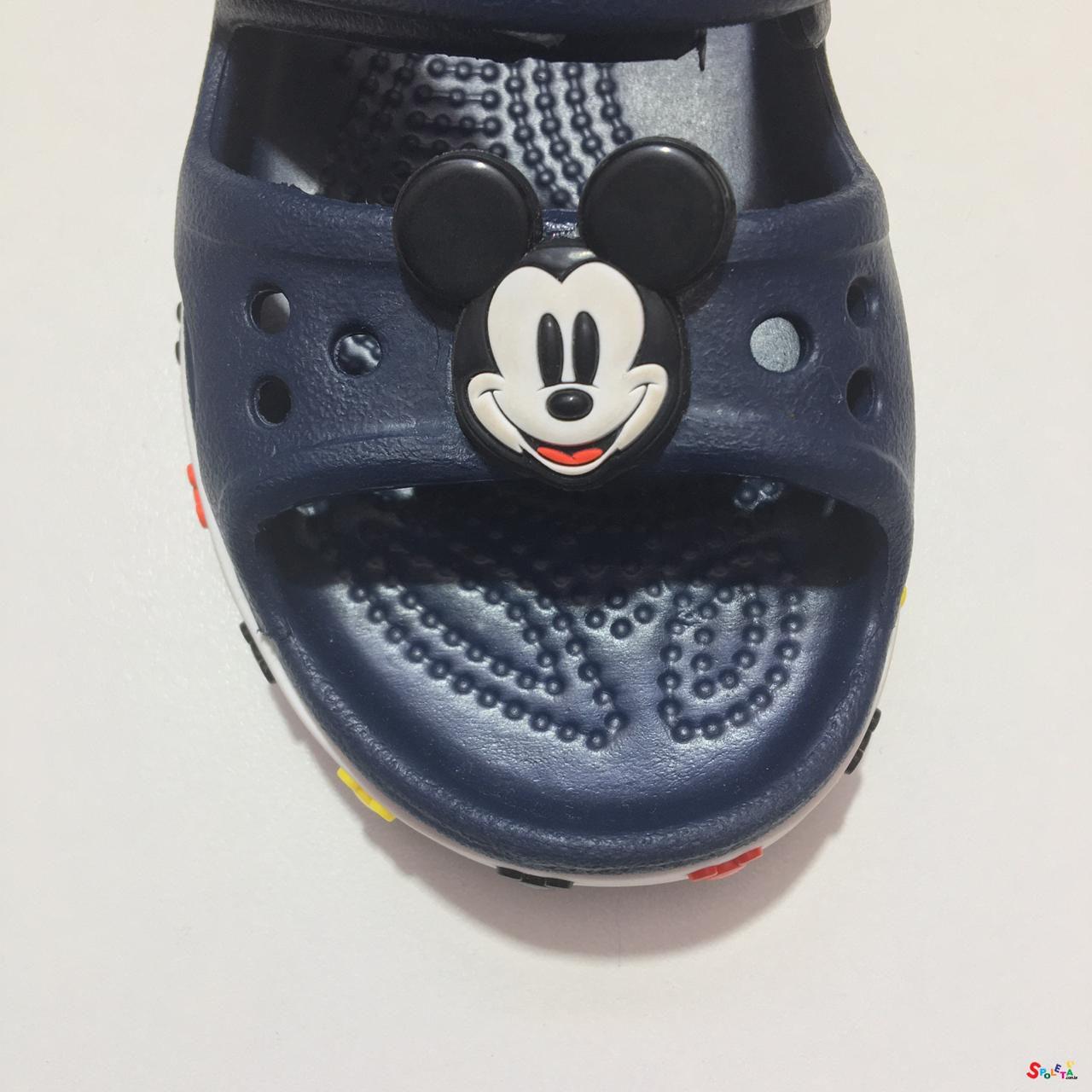 Crocs Infanti Disney Mickey Mouse - Azul Marinho