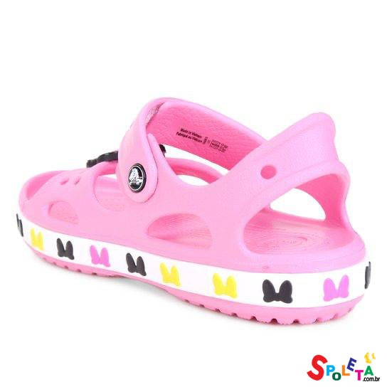 Crocs Infanti Disney Minnie Mouse - Pink