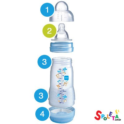 Easy Start 160ml -  Safari - Mamadeira