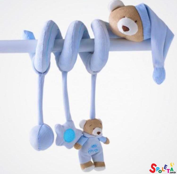 Espiral de Atividades Baby Urso Zip