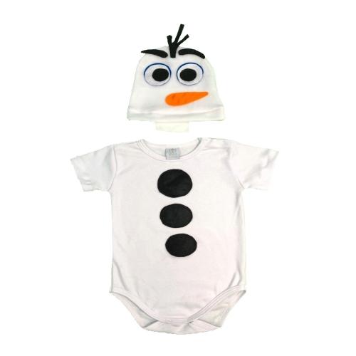 Fantasia Mesversário Olaf