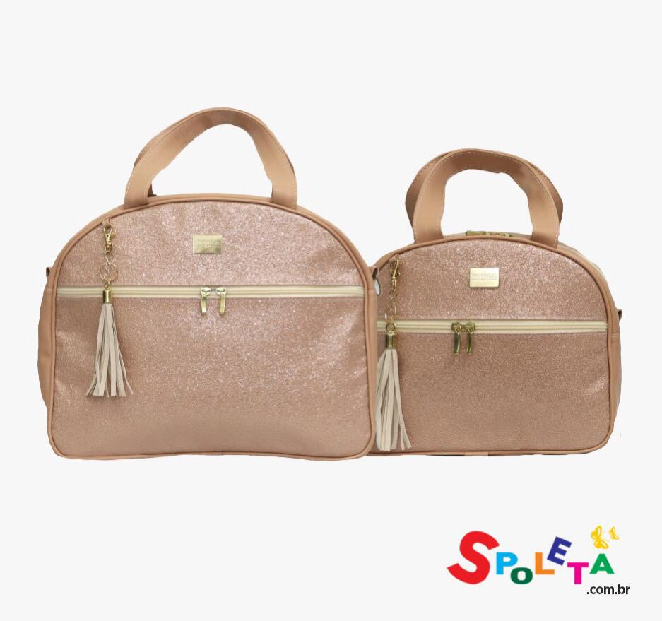 Kit Bolsa Sushine Gloss Rose